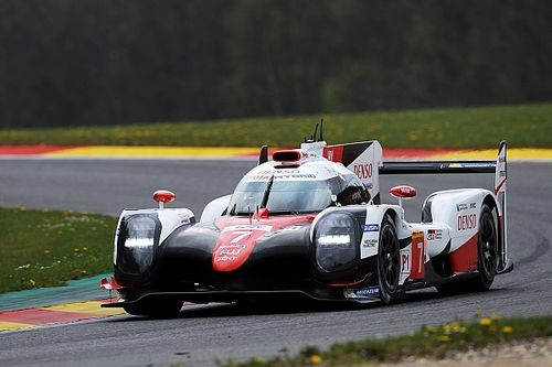 WEC Spa: Toyota topt eerste training