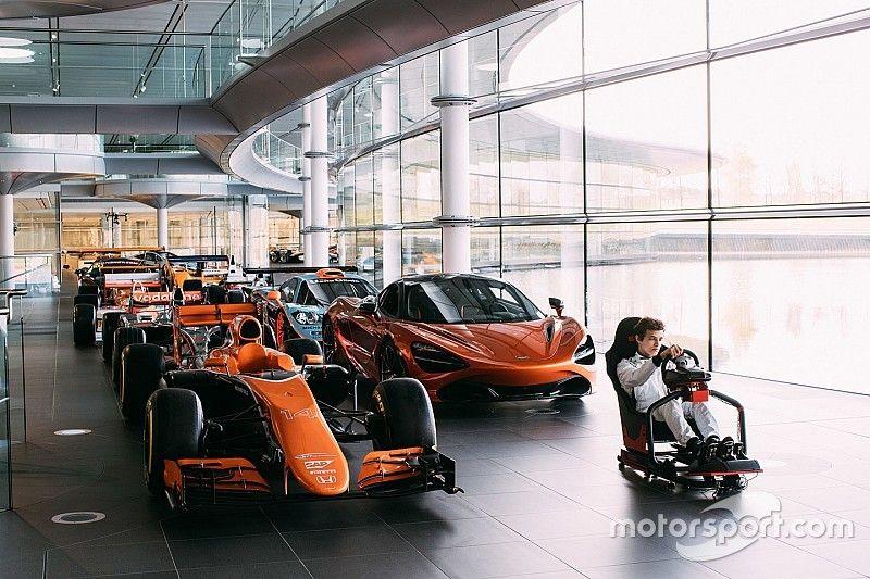 Van eRacer naar F1-simulatorrijder? McLaren maakt het mogelijk