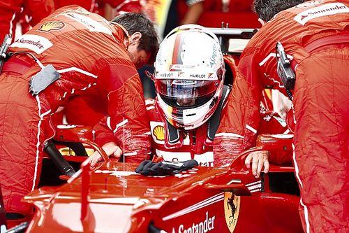"""Vettel: """"Oggi rallentati anche da un black-out nel nostro box!"""""""