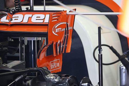 McLaren: due nuovi soffiaggi nella paratia dell'ala posteriore