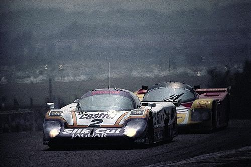Thrillers in Le Mans 2/5: Lammers redt Jaguar in 1988