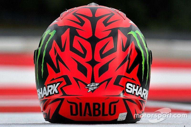 'Diablo', el casco especial que estrena Lorenzo en Austria