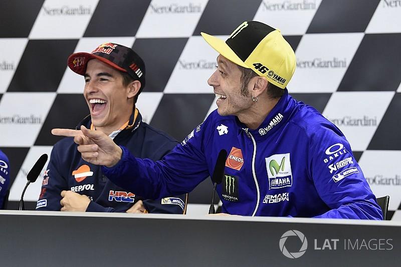 """Rossi: """"Lorenzo ya está para ganar, y puede hacerlo en esta carrera"""""""