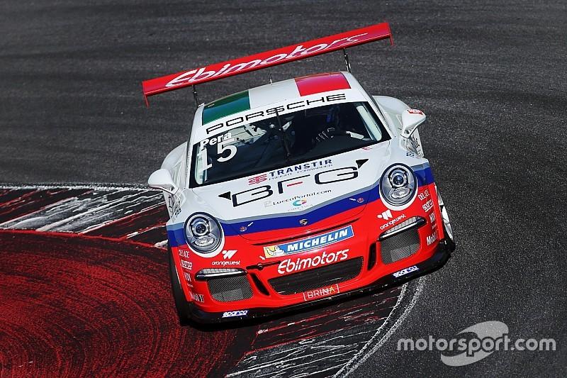 Carrera Cup Italia, Misano: Pera trionfa in gara 1