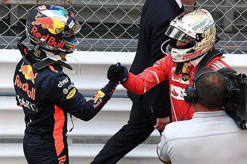 """Ricciardo punge Vettel: """"A volte dovrebbe pensare prima di agire"""""""