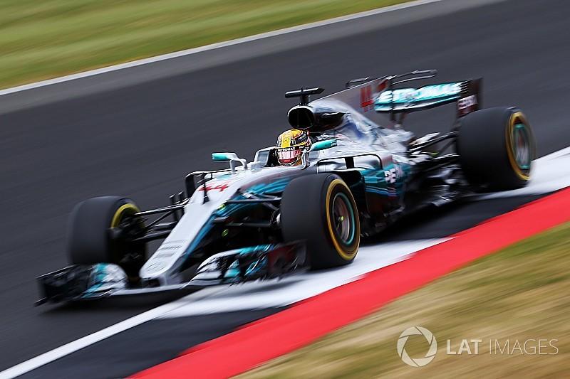 【F1】イギリスFP3:ベッテル抑えハミルトン首位。後半はウェットに