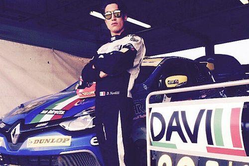 Davide Nardilli in Clio Cup Italia con la Melatini Racing