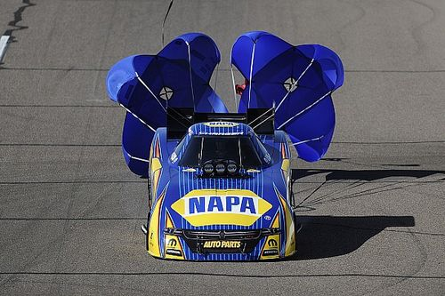 Capps, Torrence and Line lead qualifying Friday at New England Nationals