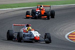 Aragon Eurocup: Norris hangs on to take second win