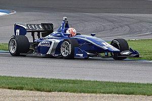 Jones blitzes Indy Lights rivals to grab IMS pole