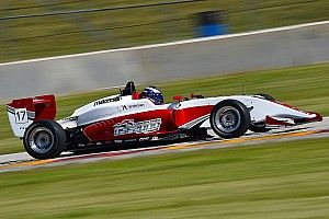 New USF2000 car concludes road course test program