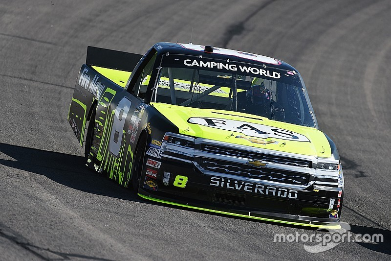 Truck title contender Nemechek penalized after Chase opener
