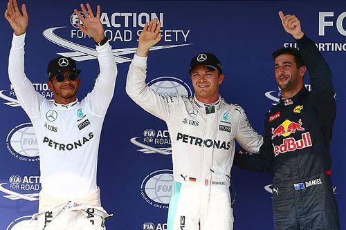 Pole para Rosberg en una sesión eterna; brillaron Alonso y Sainz
