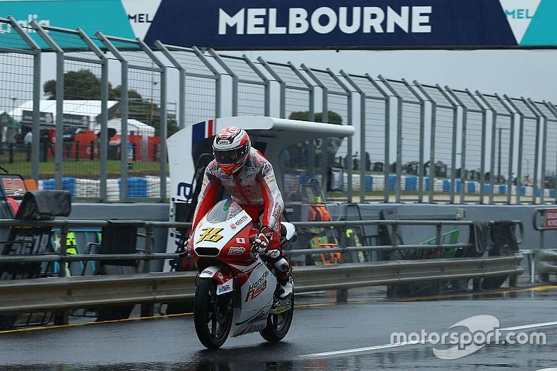 尾野「コースを覚えることに時間を費やした。早くドライで走りたい」:Moto3オーストラリア