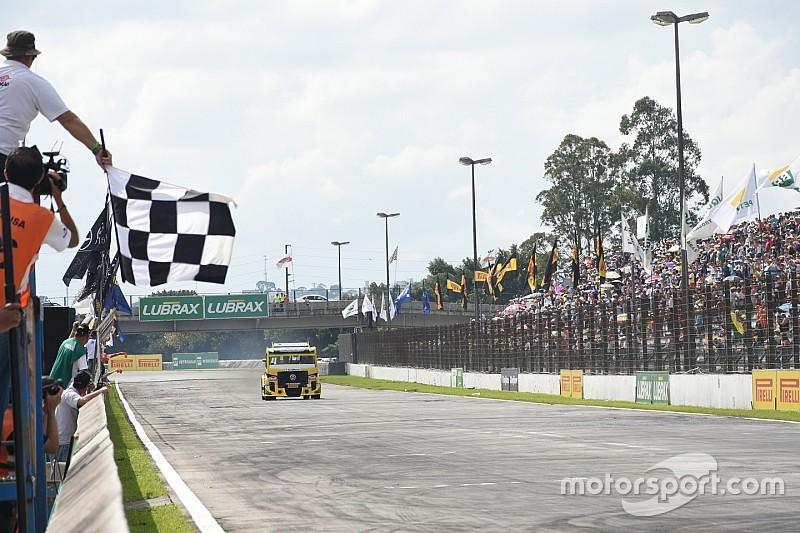 Felipe Giaffone vence em Curitiba e dispara na Fórmula Truck