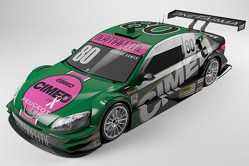 Cimed Racing apresenta pintura especial para Curitiba