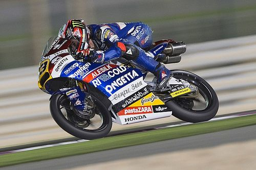 Qatar Moto3: Antonelli beats Binder by 0.007s in photo finish