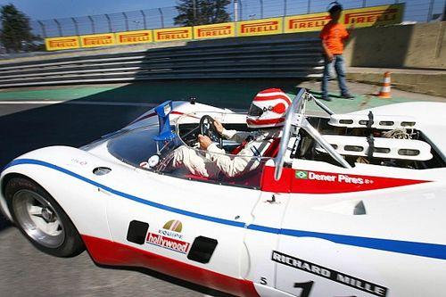 Nelson Piquet volta a Interlagos em Porsche clássico