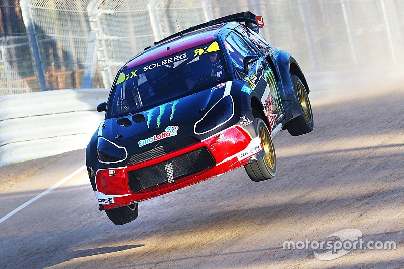 Solberg disqualified from Q2 after clash with Ekstrom in Latvia