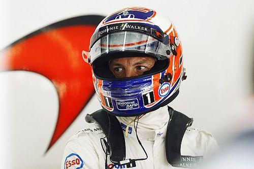 Button to work on team, not car development at McLaren in 2017