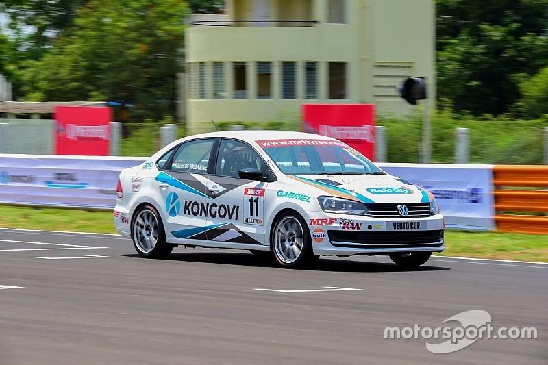 Chennai Vento Cup: Desouza dominates field in Race 1