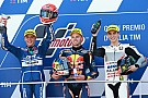 Moto3 Moto3 İtalya: Yarışın ikincisi Di Giannantonio'ya şampanya engeli