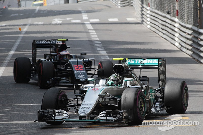 Mercedes: Competition hotting up on eventful opening day in Monte Carlo