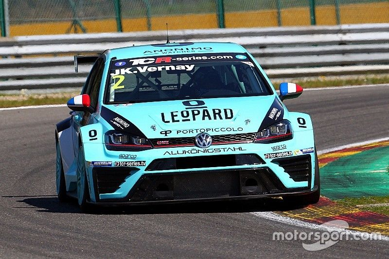 Spa TCR: Vernay beats teammate Comini to claim first win