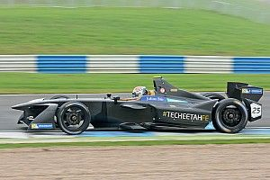 Vergne ends opening day of second Formula E test on top