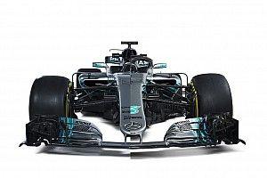 Comparación Mercedes W08 vs. W09 F1