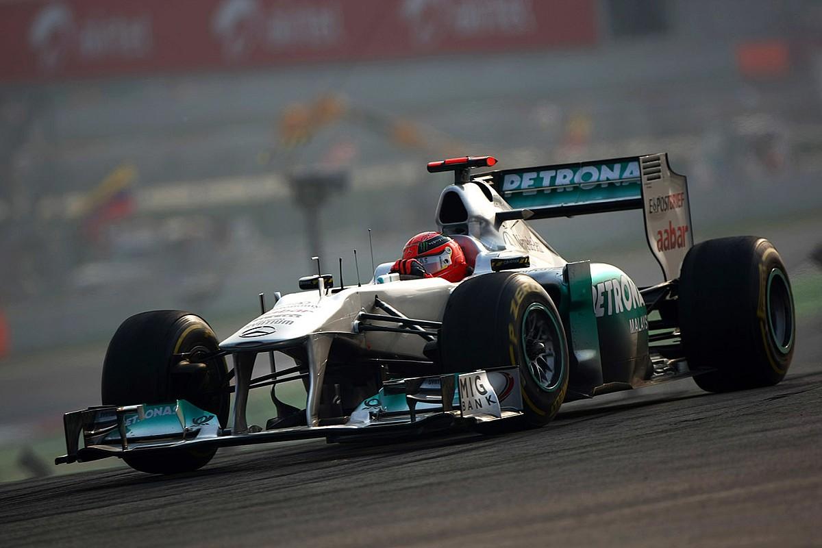 Schumacher nagy szerepet vállalt abban, hogy a Mercedes ennyire sikeres