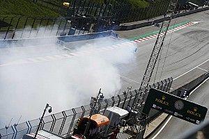 Hülkenbergs Feuerwerk: Renault vermutet Turboschaden