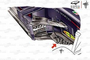 Análise técnica: As novidades nos bargeboards da Red Bull