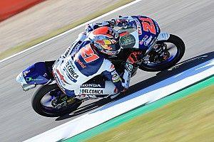 Di Giannantonio festejó su primera victoria en Moto3