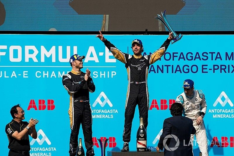 圣地亚哥ePrix:维尔恩击退罗特勒,钛麒车队包揽冠亚军