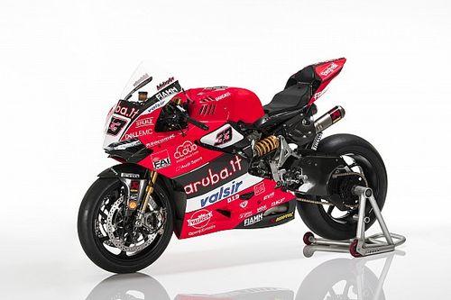 Fotogallery: le Ducati Panigale R SBK di Melandri e Davies