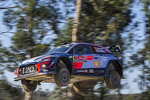 WRC Resumen de la etapa Neuville salva una plaga de abandonos y lidera tras la primera etapa en Portugal