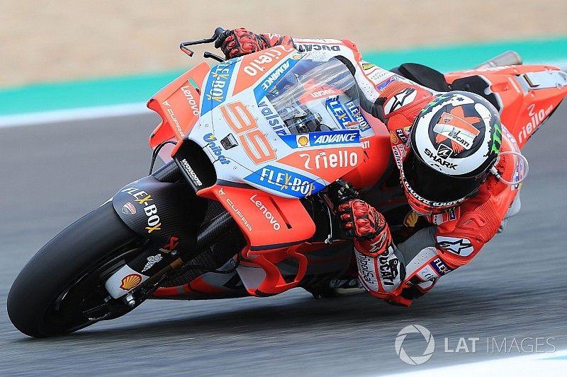 Lorenzo está satisfecho con las mejoras que llevó Ducati a España