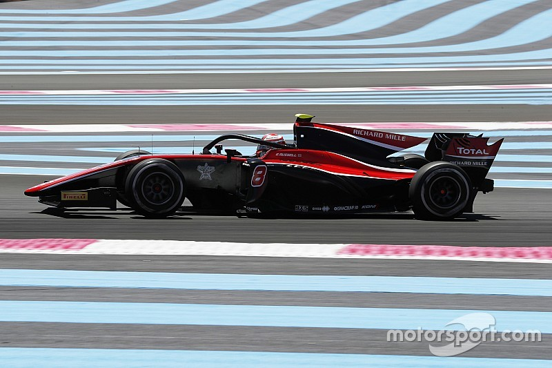 Paul Ricard F2: Russell triumphs in wet-dry thriller