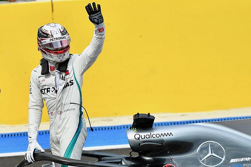 Hamilton se lleva la pole para el Gran Premio de Francia
