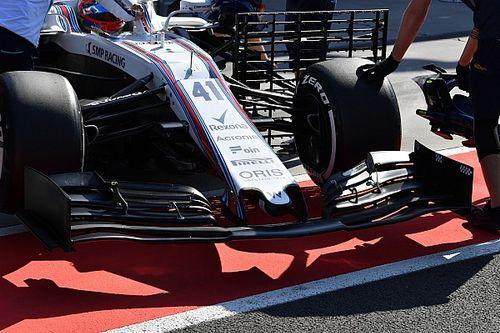 Force India y Williams enseñan los nuevos alerones delanteros de 2019