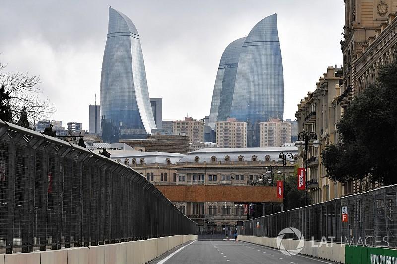 Azerbaijan GP: Top photos from Thursday