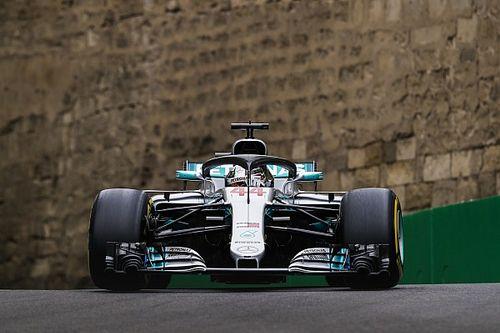 """Hamilton na snelle tijd Ricciardo: """"Red Bull ligt vrij ver voor op ons"""""""