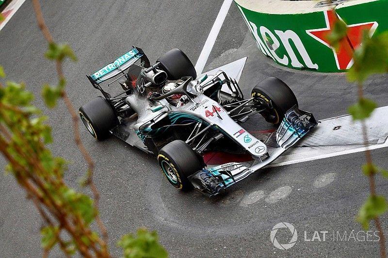 Azerbaijan GP statistics: Hamilton wins at 25th different track