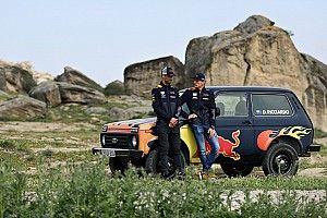 Гонщики Red Bull прокатились на «Ниве»