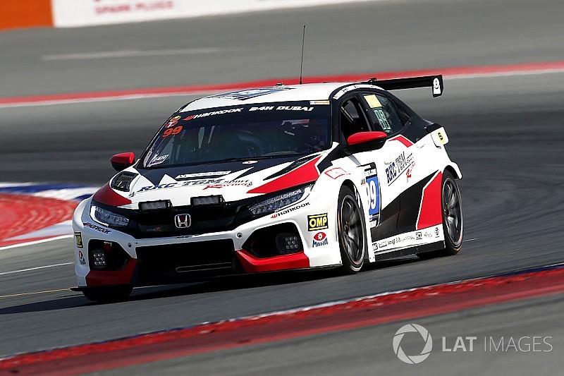 Un ritiro... utile per la nuova Honda Civic Type R TCR a Dubai