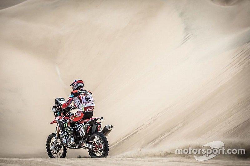Nacho Cornejo, el as bajo la manga de Honda que impresiona en las dunas