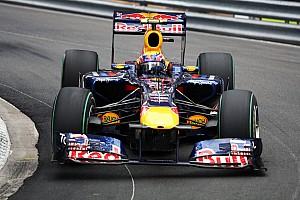 Mark Webber egy saját F1-es Red Bullal is rendelkezik