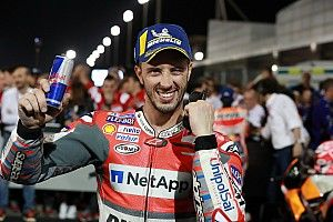 Dovizioso senang kalahkan Marquez lagi