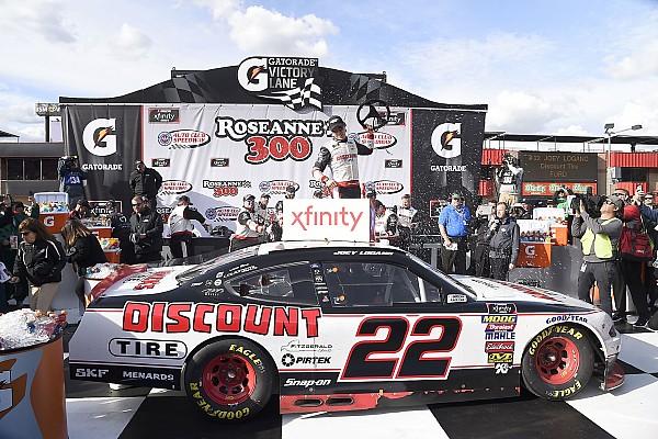 NASCAR XFINITY Race report Joey Logano dominates NASCAR Xfinity Series race at Fontana